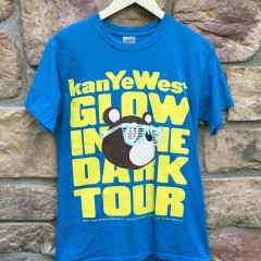 Kanye west glow in the dark tour concert t shirt