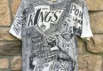 Vintage Los Angeles Kings 1991 Magic Johnson NHL T shirt