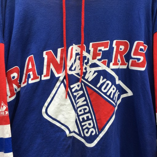 Vintage 90's New York Rangers Hoody T shirt