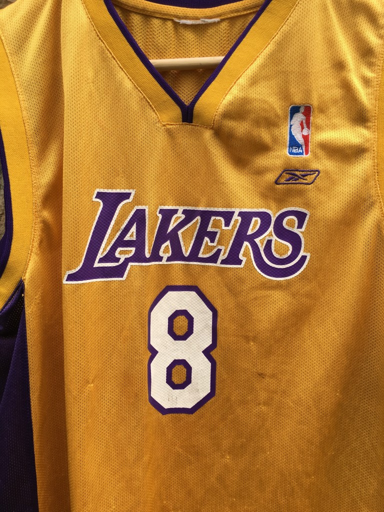 2002 Kobe Bryant Los Angeles Lakers Reebok NBA Jersey Youth Large ... 6cb1800ac