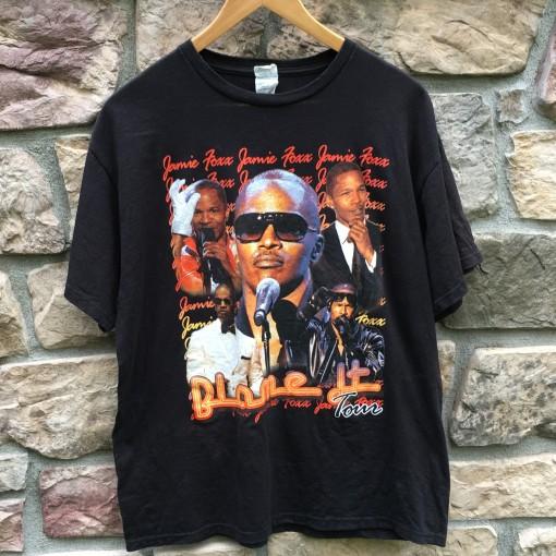 Vintage Jamie Foxx Blame it concert rap t shirt