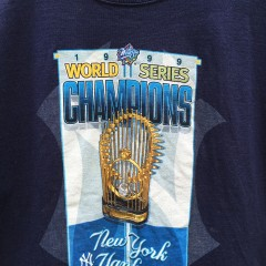 1999 world series champions MLB t shirt
