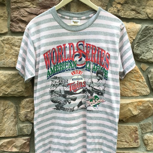 1991 Minnesota Twins World Series Champions vintage t shirt