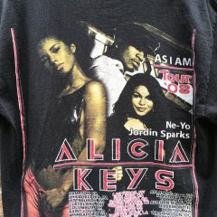 Vintage Alicia Keys tour shirt