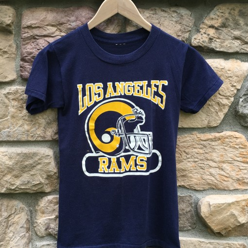 Vintage Los Angeles Rams NFL T Shirt 80's