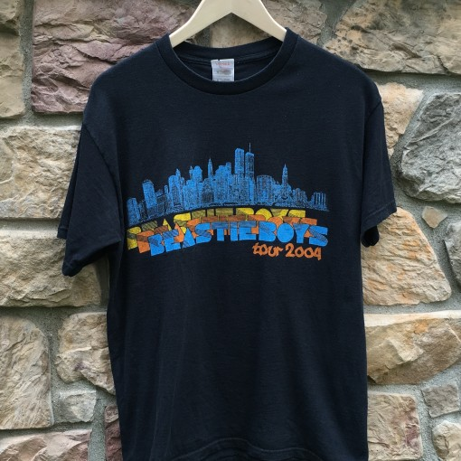 2004 Beastie Boys Tour Rap T shirt