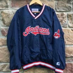 Vintage Cleveland Indians Starter MLB pullover jacket