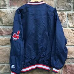 back of starter Indians jacket
