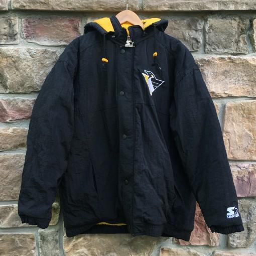 Vintage Pittsburgh Penguins Starter pullover jacket