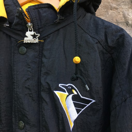 90's Penguins starter jacket