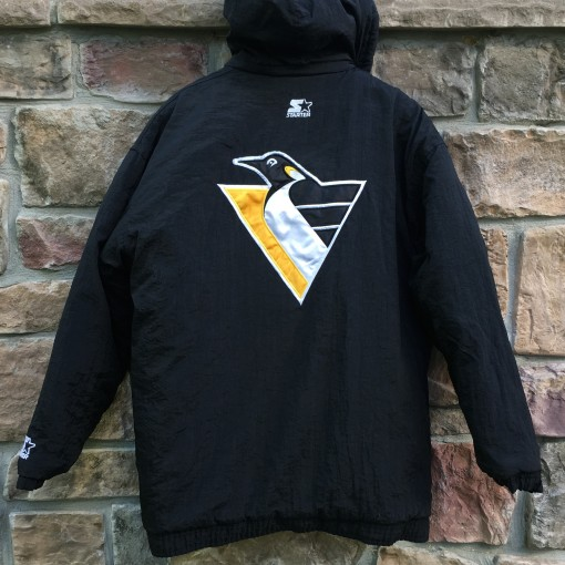 throwback Pittsburgh Penguins Starter NHL jacket