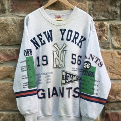 1992 New york giants 1956 Champions crewneck