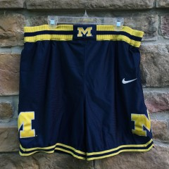 vintage authentic University of Michigan fab 5 Nike basketball shorts