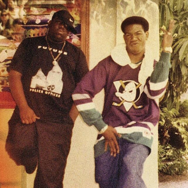 Craig Mack Mighty Ducks jersey with Biggie