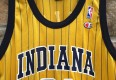 Reggie Miller 1999 alternate yellow jersey