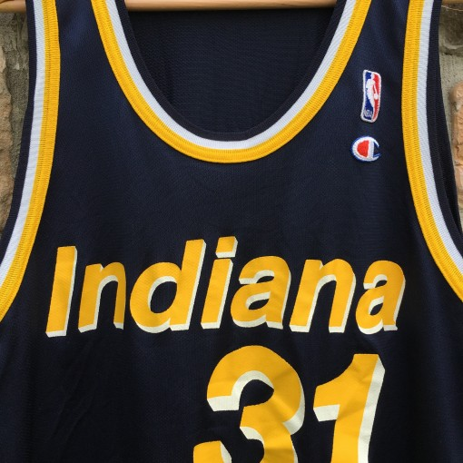Throwback reggie miller pacers jersey