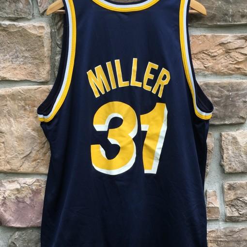 vintage Reggie Miller Pacers jersey