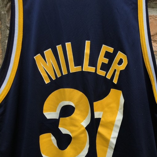 reggie miller throwback jersey