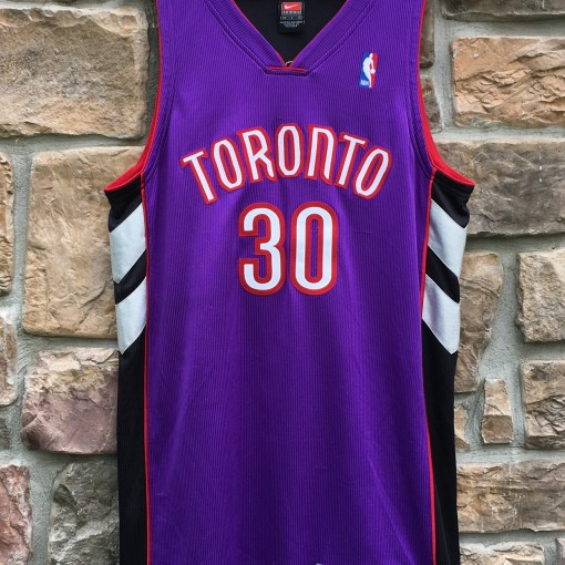 Dell Curry authentic Nike Toronto Raptors NBA jersey