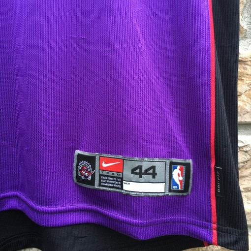 size 44 authentic Toronto Raptors jersey