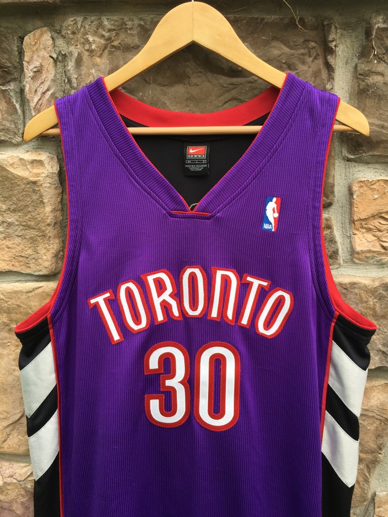 best cheap f4632 9ff74 2000 Dell Curry Toronto Raptors Nike Authentic Pro Cut NBA Jersey Size 44
