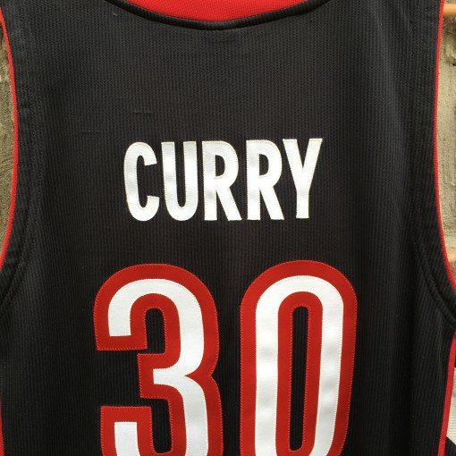 Real Dell Curry Raptors authentic jersey