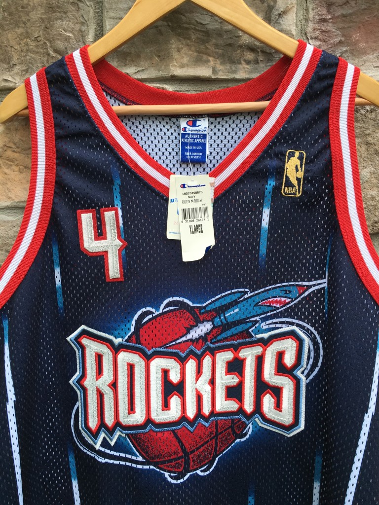 deadstock Houston Rockets Authentic Charles Barkley jersey