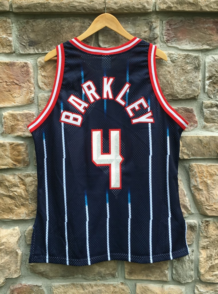 918fe2da0 1997 Charles Barkley Houston Rockets Authentic Champion NBA Jersey ...