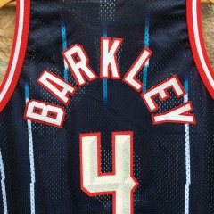 Barkley Rockets throwback jersey