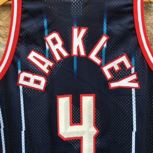 Barkley Rockets throwback jersey