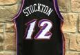 Authentic Utah Jazz John Stockton jersey size 48