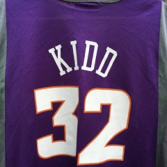 Jason Kidd Phoenix Suns purple champion NBA jersey