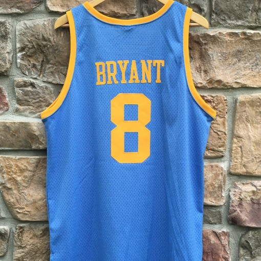 Kobe Bryant MPLS Lakers throwback jersey