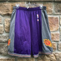 Vintage Phoenix Suns Champion NBA Game Shorts