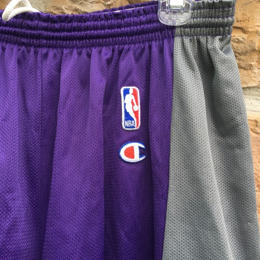 vintage Champion NBA shorts