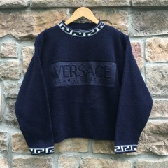 vintage Versace Jeans Co fleece crewneck sweatshirt