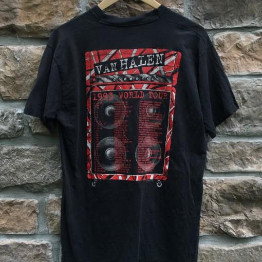 1993 Van Halen Live Concert t shirt