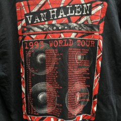 1993 Van Halen World Tour T shirt