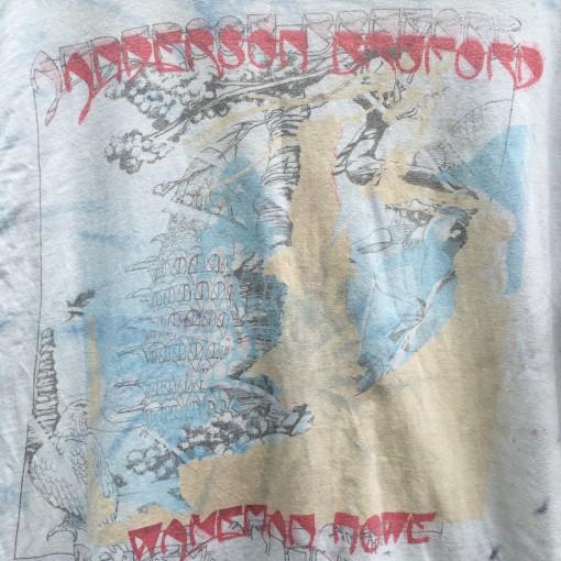 1989 Anderson Bruford wakeman howe concert t shirt