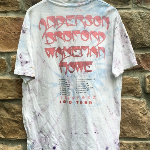 Anderson Bruford wakeman howe concert t shirt