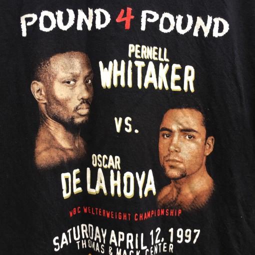 Original Caesars Oscar De La Hoya boxing t shirt