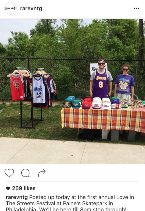 Rare Vntg Vending at love on the streets festival philly