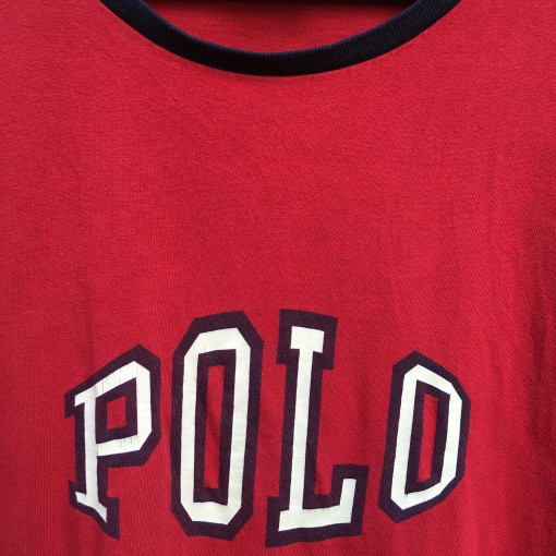 vintage Polo Sport spell out t shirt