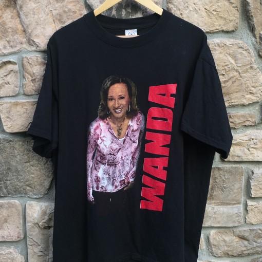 vintage 2004 Wanda Sykes Live hip hop rap t shirt size XL
