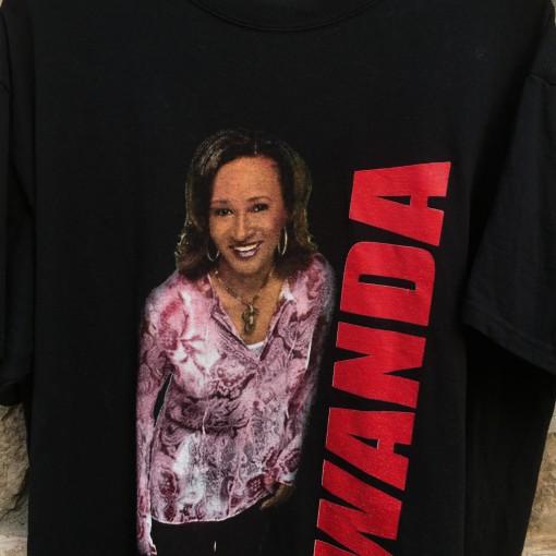 vintage wanda skyes t shirt comedy