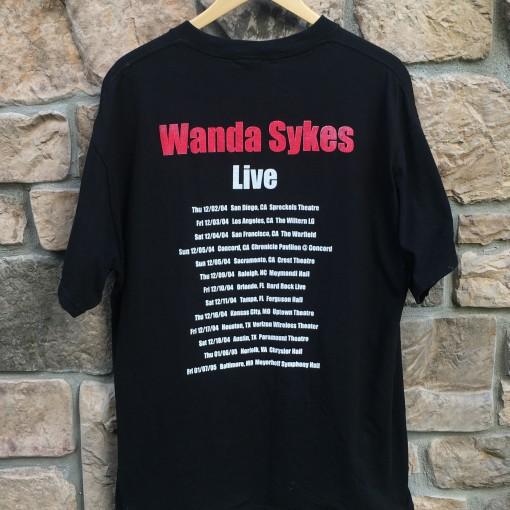 Wanda Sykes Live Comedian t shirt
