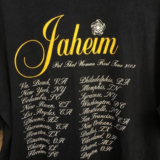 Vintage Jaheim concert t shirt