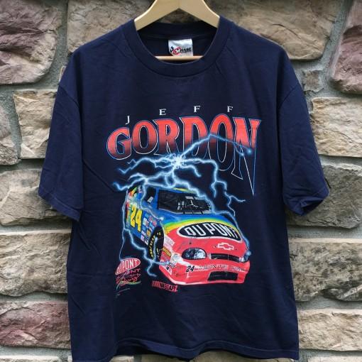 vintage 90's Jeff Gordon Nascar t shirt