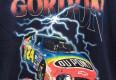 vintage 90's Jeff Gordon Nascar t shirt navy bue