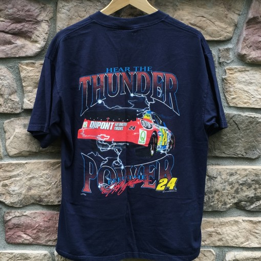 Hear the thunder Power Jeff Gordon Nascar t shirt